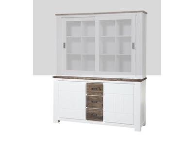 Bahut 2 portes  3 tiroirs petit modele