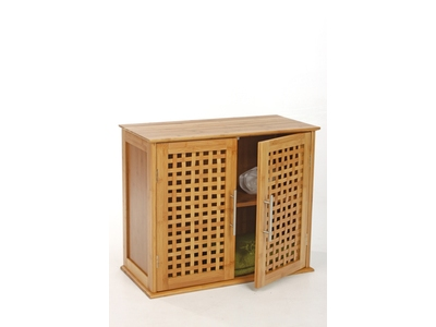 Meubles de salle de bain hauts et bas pas chers for Meuble bas salle de bain bambou