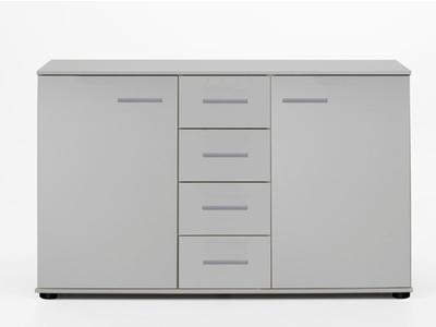 Commode 2 portes 4 tiroirs Davos