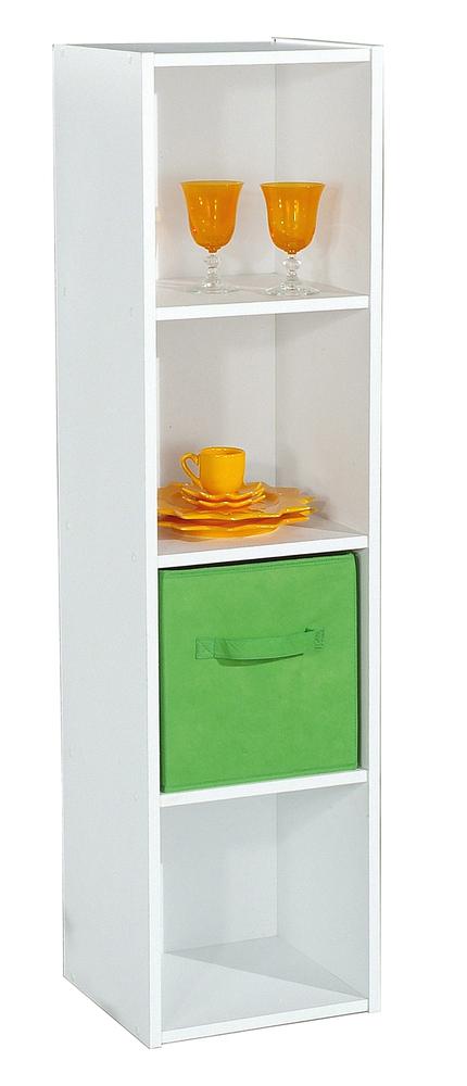 rangement 4 cases compo 14 blanc. Black Bedroom Furniture Sets. Home Design Ideas