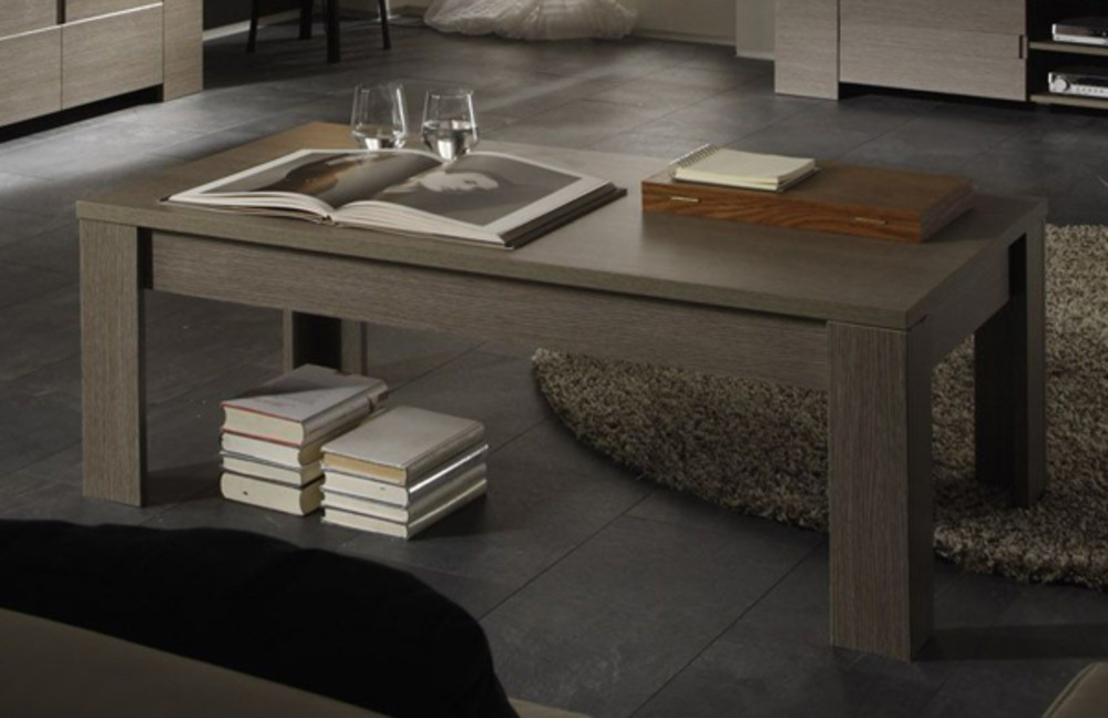 table basse messina chene gris. Black Bedroom Furniture Sets. Home Design Ideas