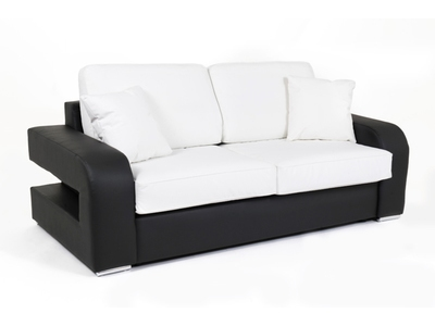 Canape convertible couchage 140 cm
