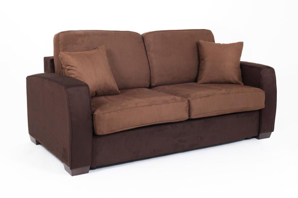 Canape convertible couchage 140 cm ellipse micro 23 micro 9 for Canape convertible bon couchage