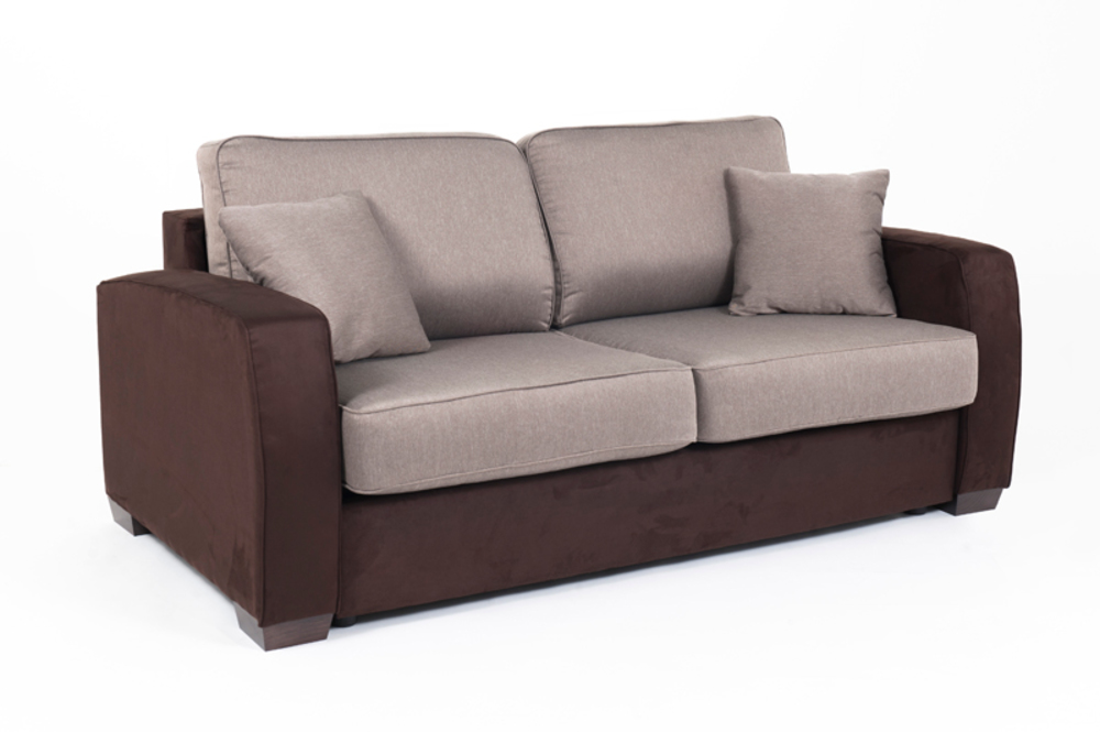 Canape convertible couchage 140 cm ellipse micro 23 for Canape convertible 180 cm