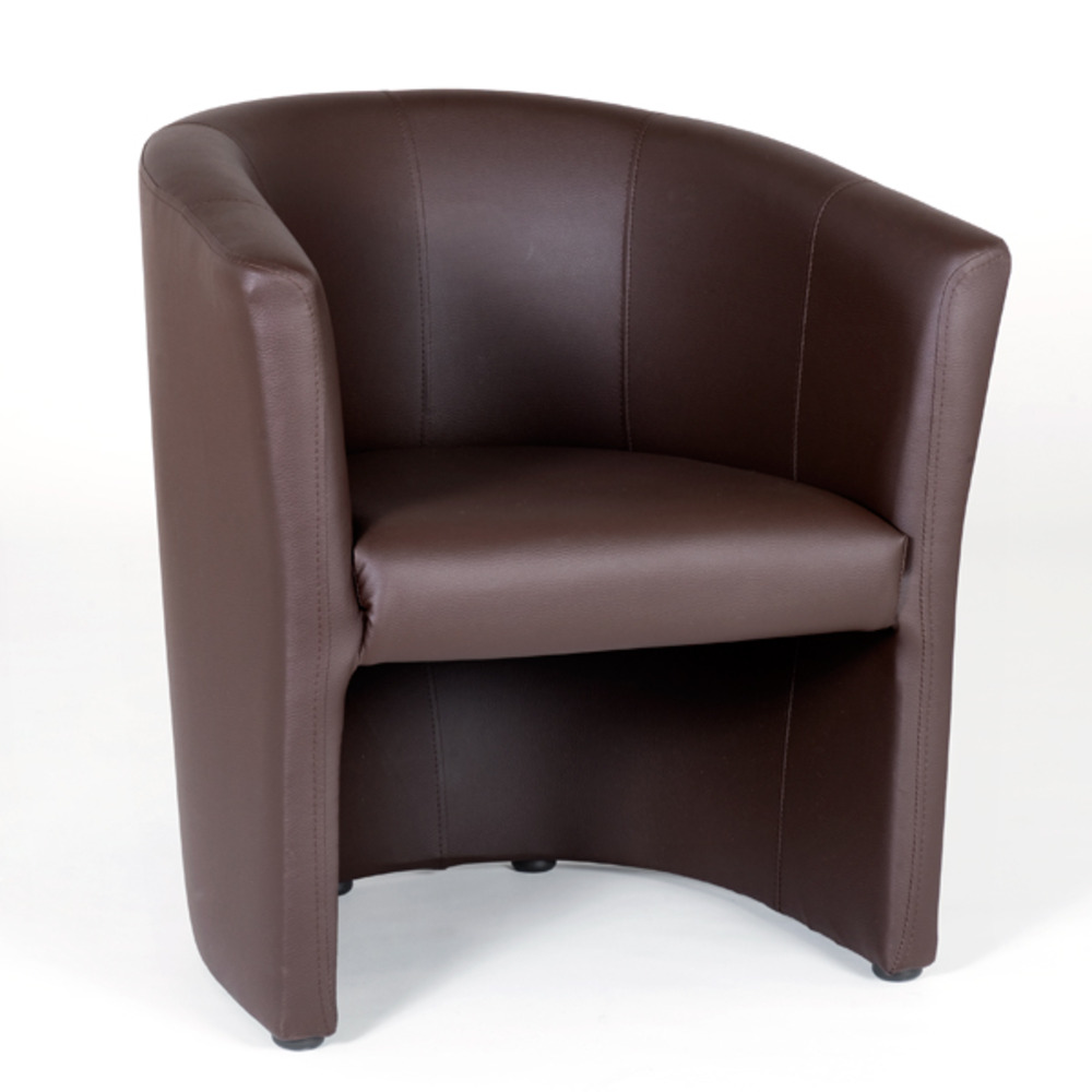 Fauteuil de salon couleur chocolat kuba for Meuble fauteuil salon