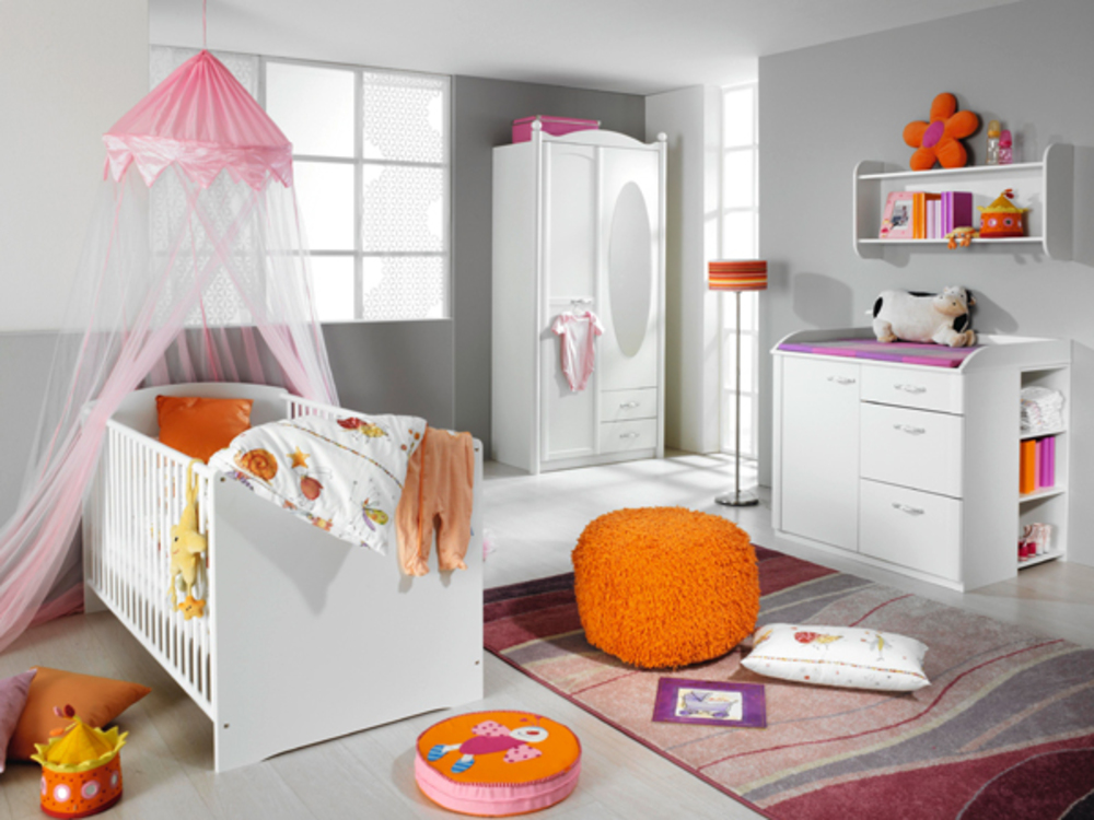 lit bebe lilly blanc neige. Black Bedroom Furniture Sets. Home Design Ideas