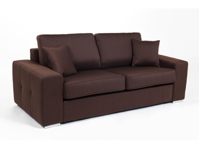 Canape convertible couchage 160 cm Cotton