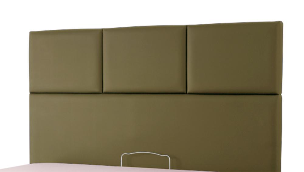 tete de lit tetra spagna taupe c 285 l 155 x h 100 x p 10. Black Bedroom Furniture Sets. Home Design Ideas