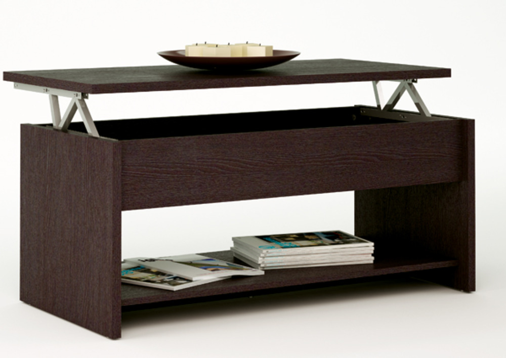 Table basse relevable trabendo - Table basse avec tablette relevable ...