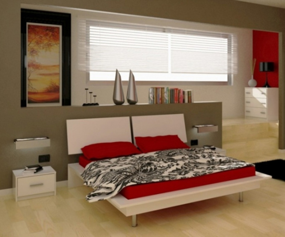 Donatella chambres lits adultes lit blanc basika le hard for Meubles lits adultes