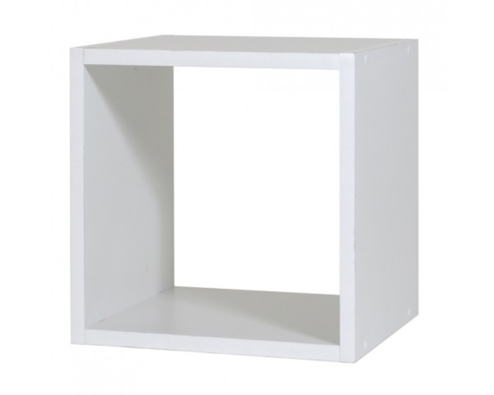 Rangement 1 case rubyx blanc for Meuble 9 cases blanc