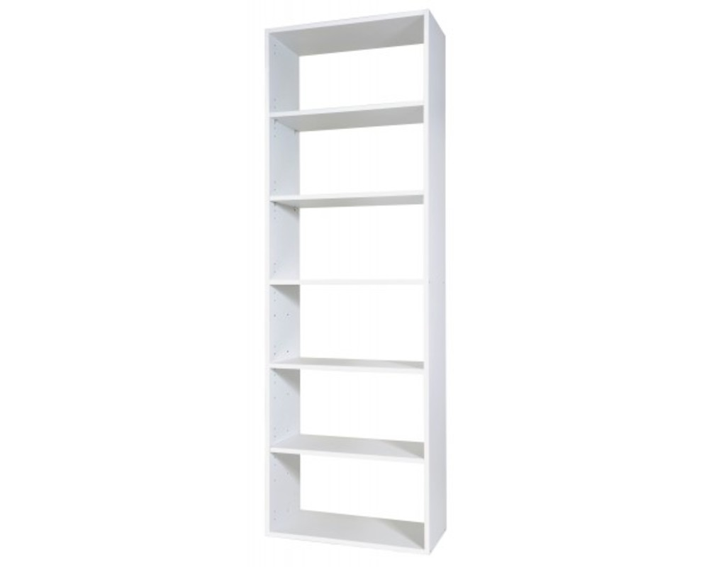 Rangement 6 cases grand modele rubyx blanc - Etagere 40 cm largeur ...