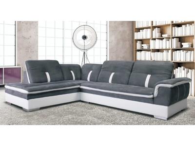 Canapé d angle  gauche Marlone Beige