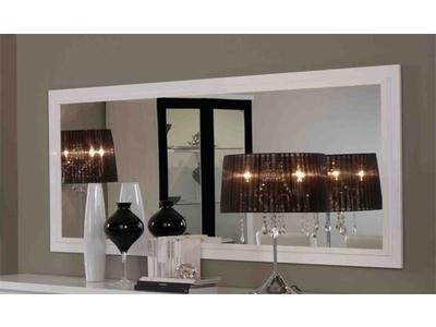 Miroir Firenze blanc/noir