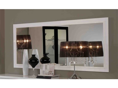 miroir firenze blanc noirl 180 x h 85. Black Bedroom Furniture Sets. Home Design Ideas