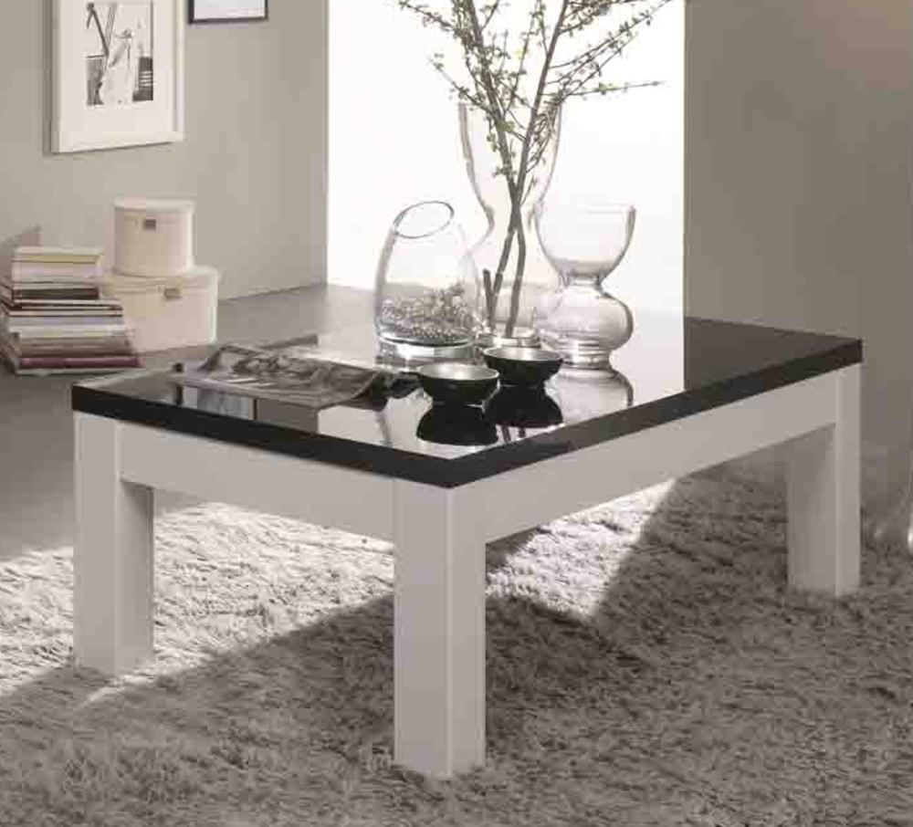 Table Basse Firenze Blanc Noir