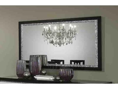 Miroir Cromo laque bicolore
