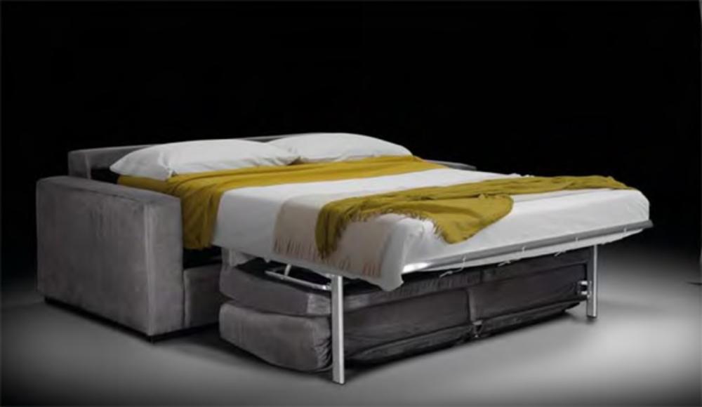 canape 3 places convertible atol marron. Black Bedroom Furniture Sets. Home Design Ideas