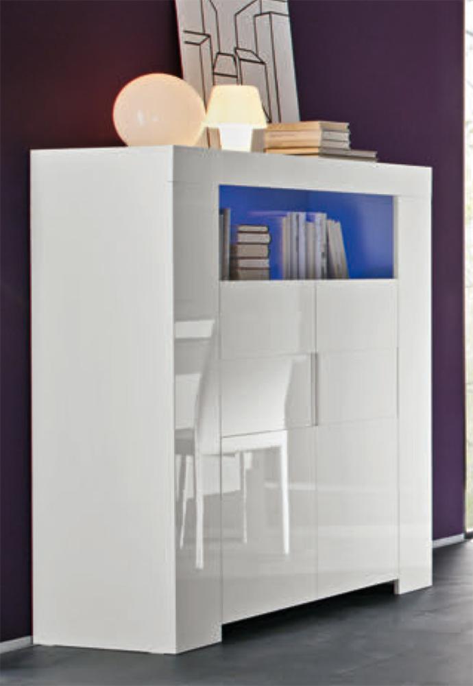 bar messina livorno laqu blanc. Black Bedroom Furniture Sets. Home Design Ideas