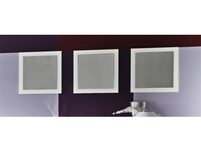 Lot de 3 miroirs Messina laque blanc