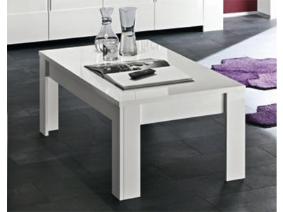 Table basse Messina laque blanc