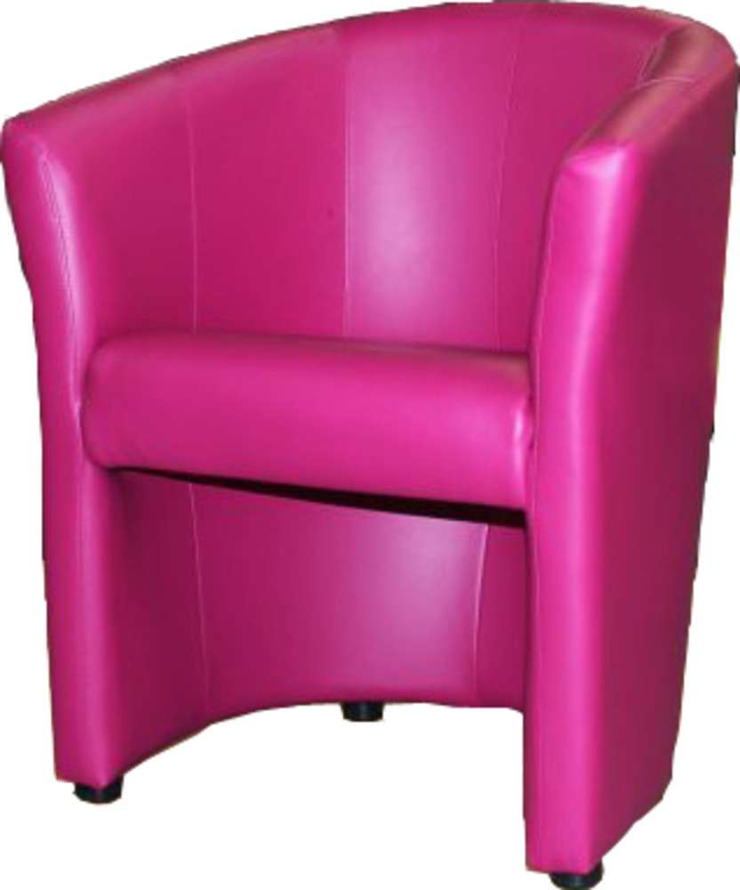 fauteuil kuba fushia. Black Bedroom Furniture Sets. Home Design Ideas