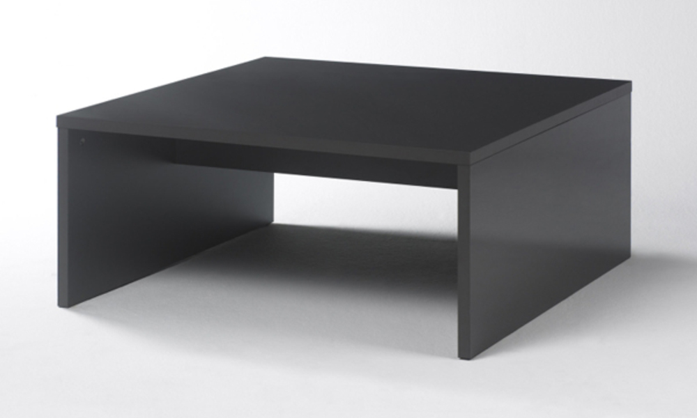 Table basse carree Box Anthracite -> Grande Table Basse Carre Indus