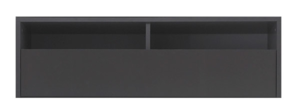 meuble tv box anthracite. Black Bedroom Furniture Sets. Home Design Ideas
