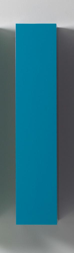Colonne murale box turquoise for Colonne de salle de bain turquoise
