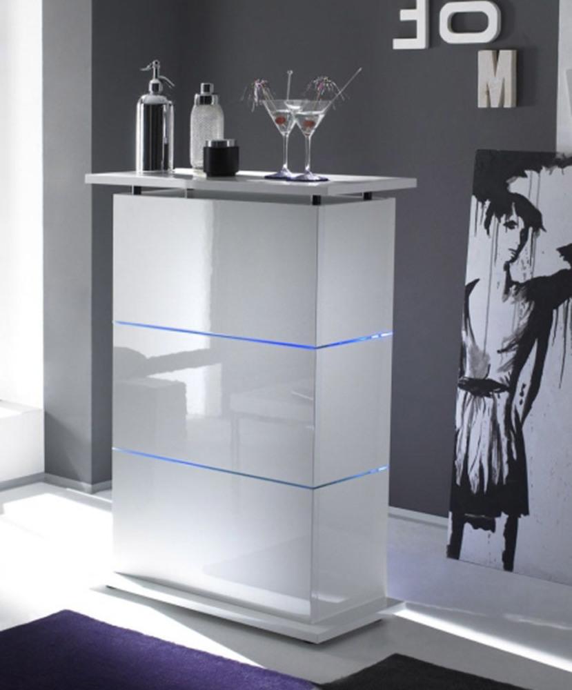Bar primo blanc - Meuble bar design blanc ...