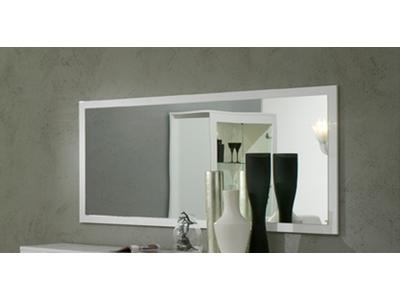 Miroir Pisa laquee blanc
