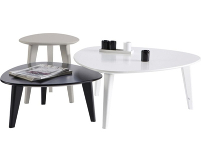 Set de 3 tables basses Stone