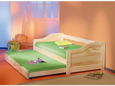 banquette lit gigogne edouard pin naturel. Black Bedroom Furniture Sets. Home Design Ideas