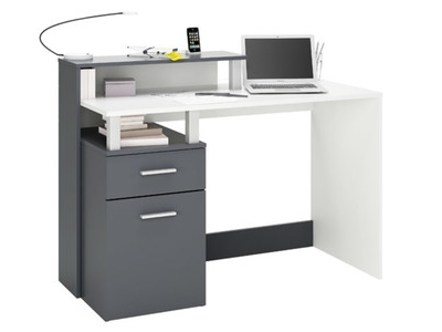 Bureau multimedia 1 porte 1 tiroir Oracle
