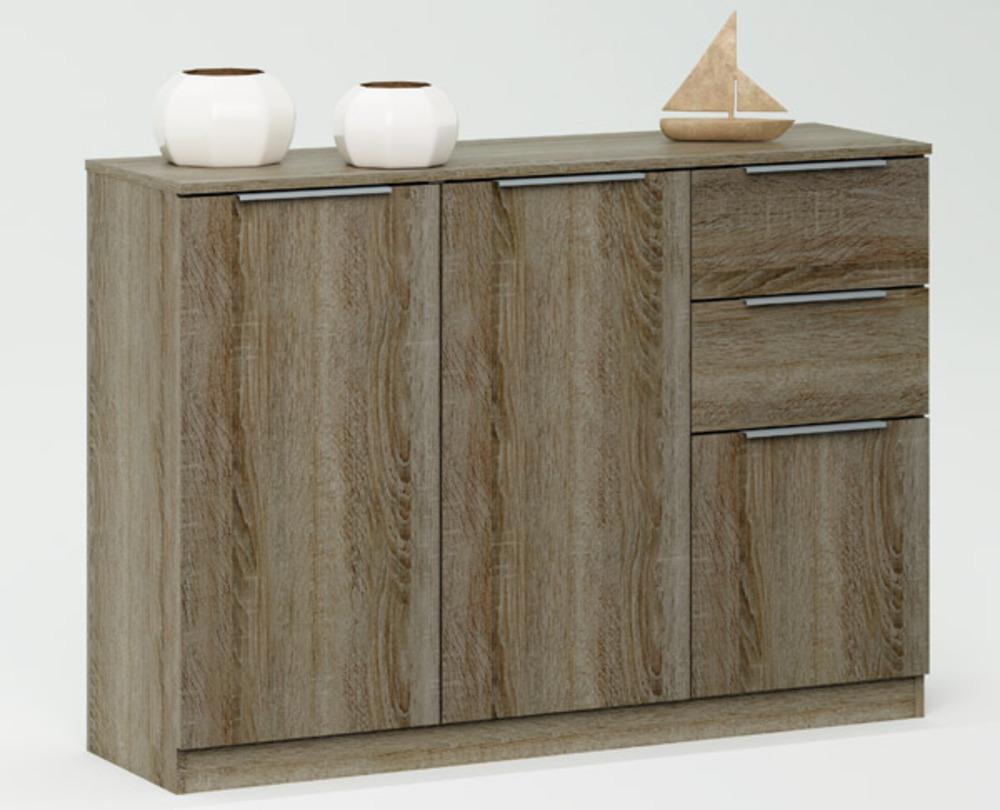 basika 100029608 chevet 2 tiroirs panneaux de particules revetu de bed mattress sale. Black Bedroom Furniture Sets. Home Design Ideas