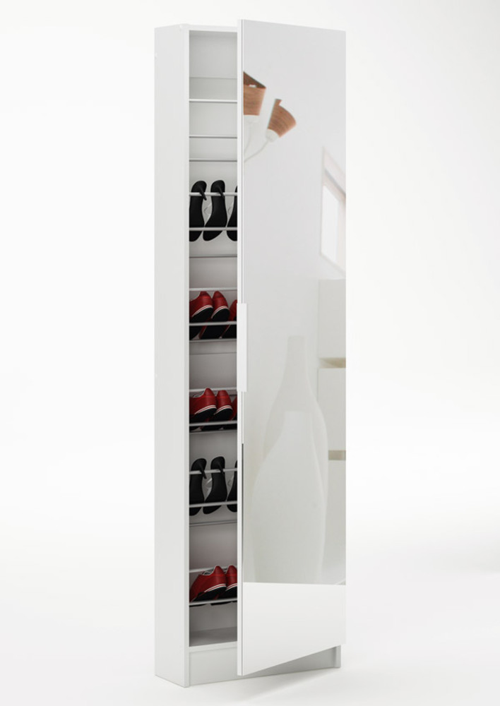 armoire chaussures zapatero blanc. Black Bedroom Furniture Sets. Home Design Ideas