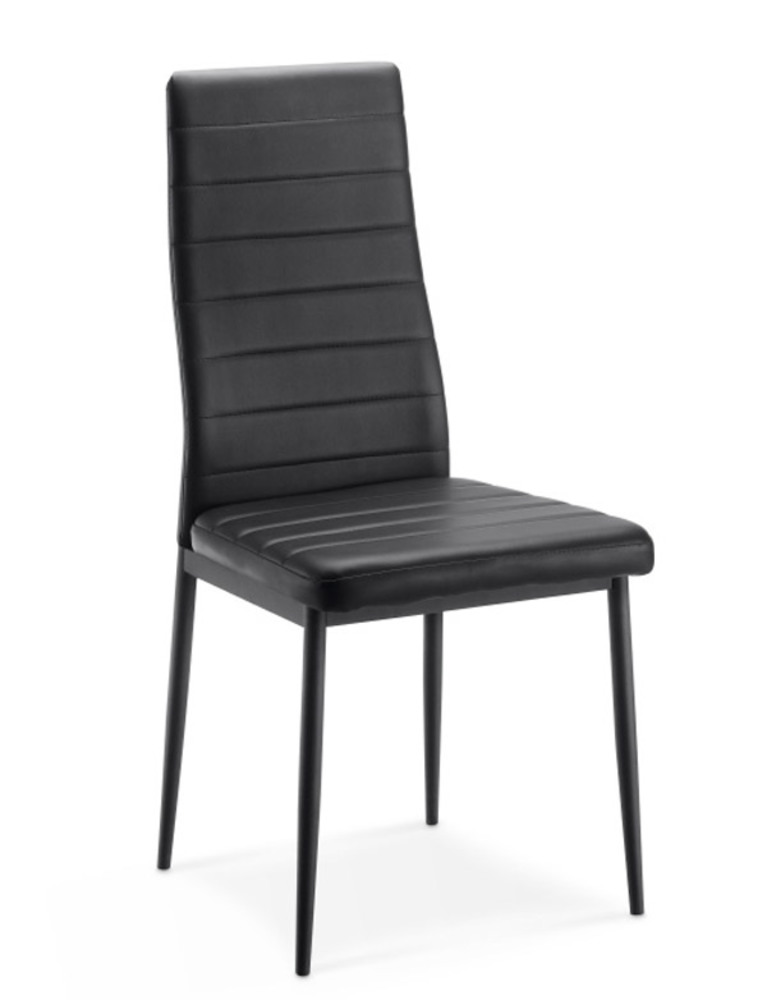 Chaise sejour flandres noir for Chaise salle a manger fly