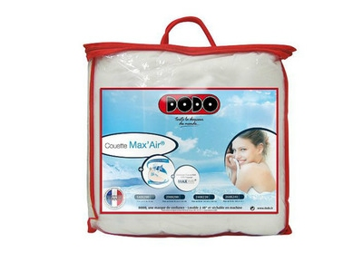 Couette dodo anti-transpiration 2 pers. max Max'air