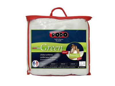 Couette dodo thermolite green 2 pers. max