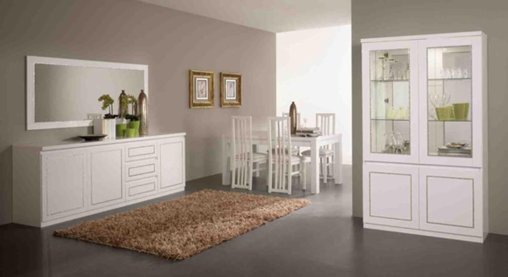 Meuble De Salle A Manger Blanc Laque ~ Solutions Pour La