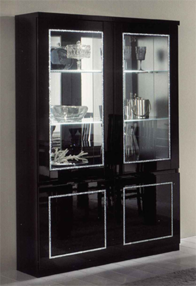 vitrine 2 portes. Black Bedroom Furniture Sets. Home Design Ideas