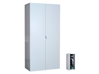 Armoire 2 portes First blanche