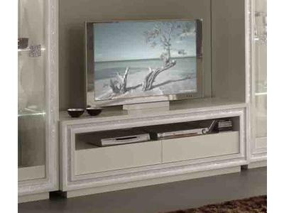 Meuble tv Prestige 302 laque blanc