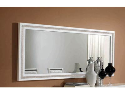 Grands miroirs muraux d co design pour le s jour for Grand miroir blanc