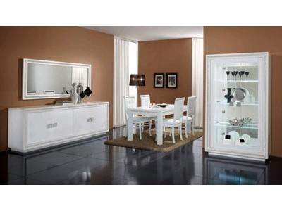 Table basse rectangulaire Prestige 302 laque blanc