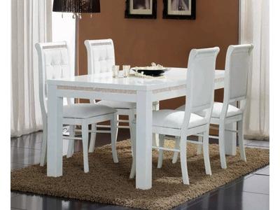 Table de repas Prestige 302 laque blanc