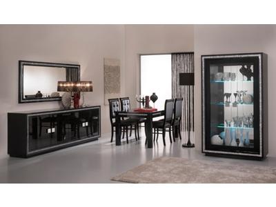 Bahut 4 portes Prestige 302 laque noir