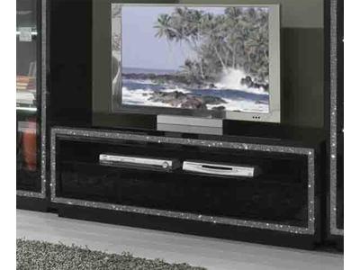 Meuble tv Prestige 302 laque noir