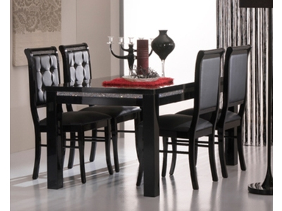 Table de repas Prestige 302 laque noir