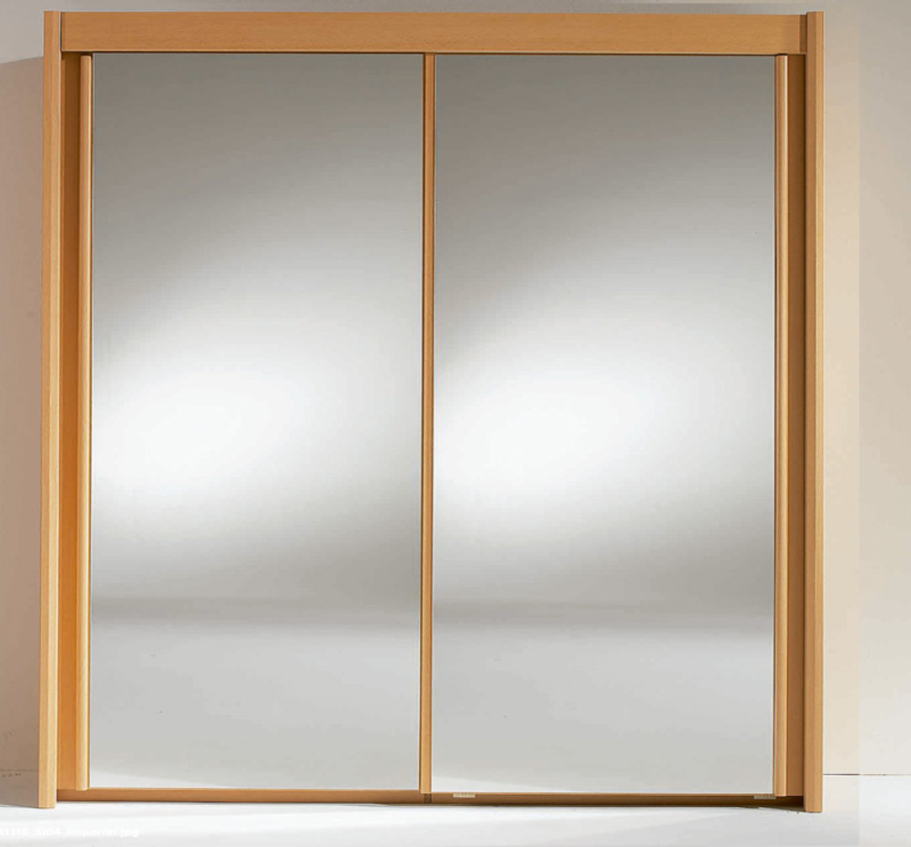 armoire 2 portes imperial hetre clair a1316 l 201 x h 223 x p 65. Black Bedroom Furniture Sets. Home Design Ideas